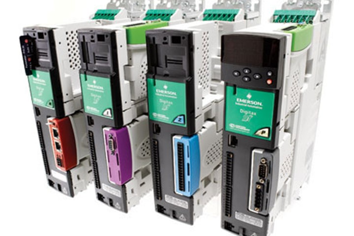 Digitax ST 230VAC Servo Drive - Plus Drive w/SM-Apps-Plus