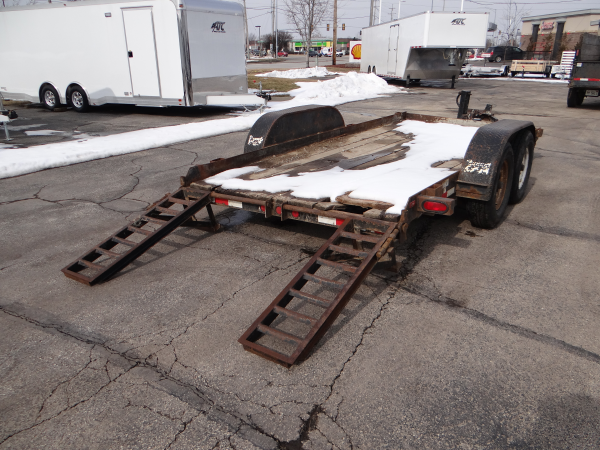 Bobcat Trailer Fenders : Used cronkhite bobcat trailer advantage