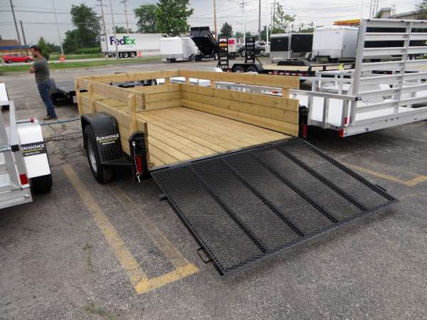 home current inventory jb enterprises     board side utility trailer