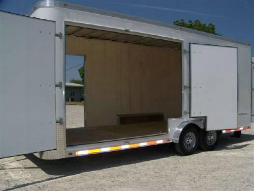 20u0026#39; ATC Aluminum Custom Cargo Trailer : Advantage Trailer