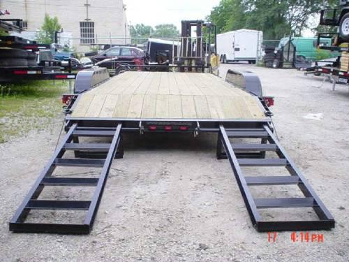 Bobcat Trailer Fenders : Skid steer bobcat trailer advantage