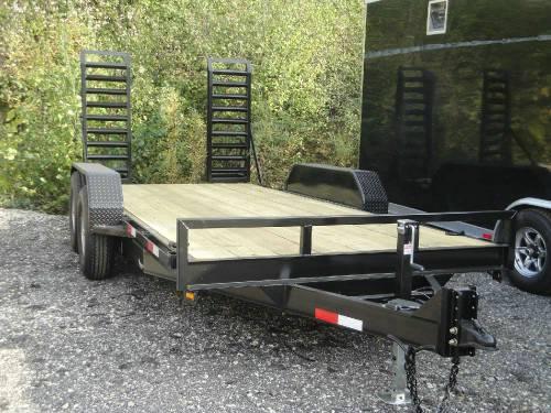 Bobcat Trailer Fenders : Skid steer bobcat equipment trailer advantage