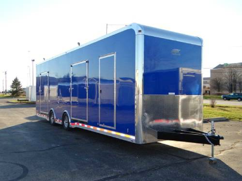 Enclosed new pepsico blue 8 5 39 x 32 39 atc aluminum for Rv workshop