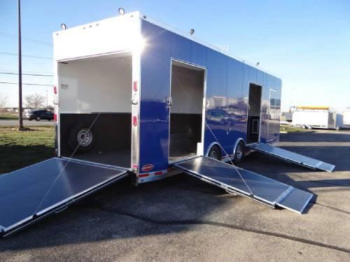 Enclosed New Pepsico Blue 8 5 X 32 Atc Aluminum