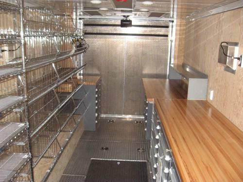 Mobile Trailers Custom Garage : Atc aluminum mobile workshop custom trailer advantage