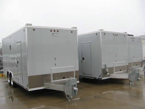Atc aluminum mobile workshop custom trailer advantage for Rv workshop