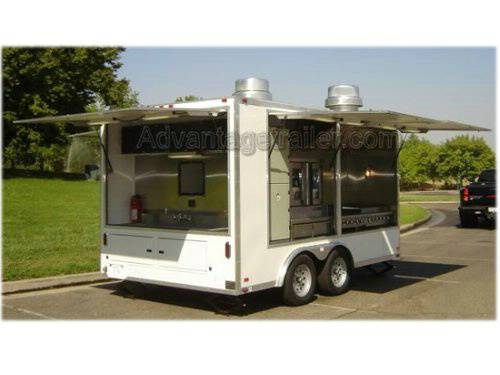 Atc Aluminum Mobile Kitchen Concession Trailer Advantage Trailer