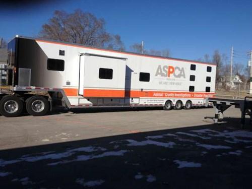 Mobile Command Shelters : Mobile command animal rescue trailer advantage