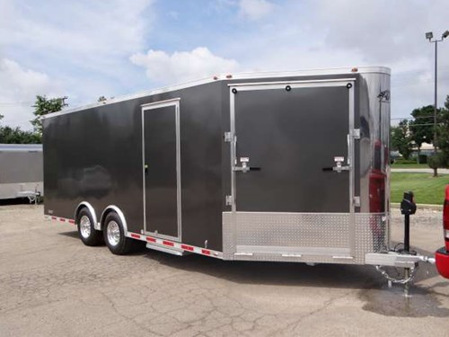 Custom 24 Car Hauler With A 4 Wedge Nose And Wedge Ramp