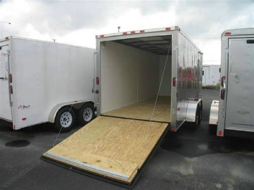 Night Hawk Cargo Trailer 7 X 16 With Ramp Door