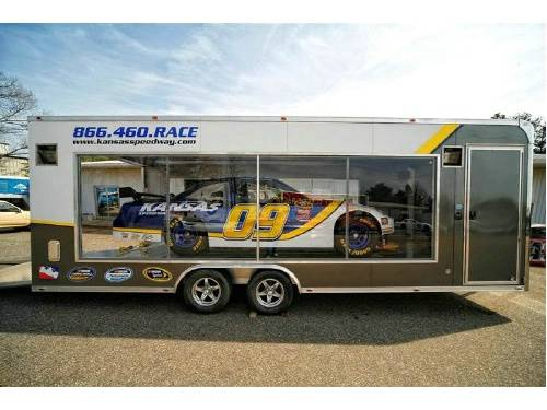 Custom Built Glass Side Car Trailer Advantage Trailer