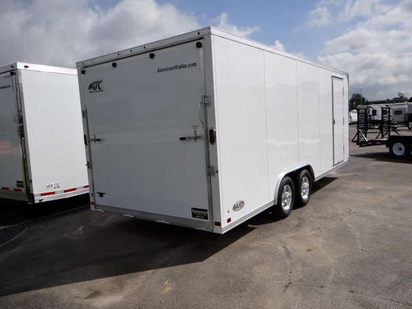8 5 X 20 All Aluminum Enclosed Car Hauler Advantage