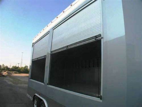 Custom Built Concession Amp Marketing Trailer W Roll Up