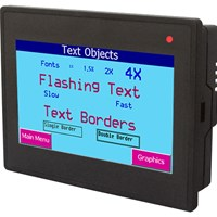 "FP3043 Series 4.3"" Color HMI Touch Screens"