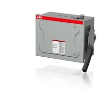 Non-Fusible 3-Pole Safety Switches - NEMA 1