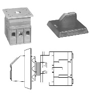 Non-Fusible Door Mounted Disconnect Switch 16A - 100A