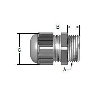 Plastic Metric Thread Cable Glands