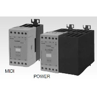 Solid State Relay - 3 phase, 2-Pole switching / 1-Pole direct, Zero Switching Integrated Heatsink