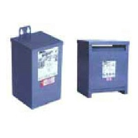 Three Phase Encapsulated / Ventilated - Group N: 600 Delta Volts to 208Y/120  Volts