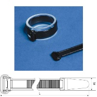 Wide Strap Heavy Duty Cable Ties